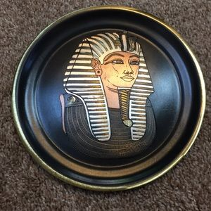 Other - Egyptian King Tut Plate decor